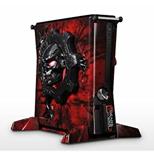 Xbox 360 – Gears of War Vaults (Konsolenhülle für Xbox 360 Slim)