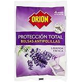 Orion Protección Total Bolsas Antipolilla, Lavanda - 40 Piezas