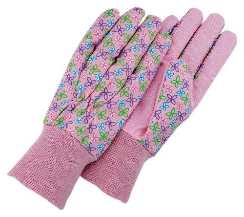 magid-glove-g103t-polsino-in-maglia-pastel-floral-guanti-da-donna-in-tela-a-pois