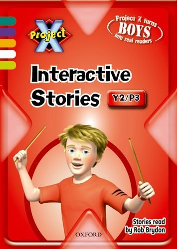Project X: Year 2/P3: Interactive Stories CD-ROM Single User by Jan Burchett (2009-01-08)