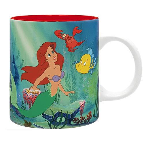 Arielle die Meerjungfrau Disney Premium Keramik Tasse - Sous L Ocean - Geschenkbox