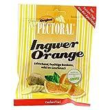 PECTORAL jengibre Colour naranja dulces de azúcar libre 60 G dulces