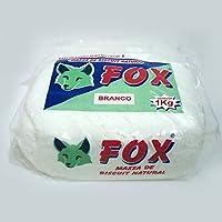 Pasta para modelar FOX color Blanco 1 Kilo