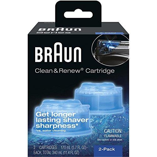 Braun-CleanCharge-Reinigungskartuschen