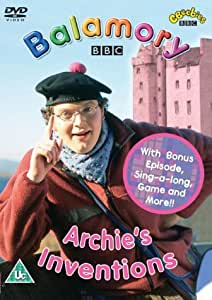 Balamory Archie S Inventions Dvd 2002 Amazon Co Uk