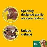 Pedigree DentaStix Hundesnack für große Hunde (25kg+), Zahnpflege-Snack mit Huhn und Rind, 10 Packungen je 7 Stück (10 x 270 g) - 6