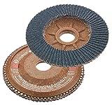 Connex COM160060 K60 Plateau à lamelle pour meuleuse d'angle 115 x 22 mm