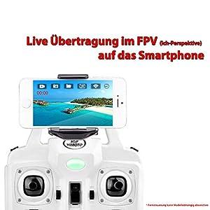 SYMA WIFI FPV X5SW-1 Explorers 2 PRO HD: Neueste UPGRADE Version | WiFi FPV | 4.5-Kanal 3D Drone 2.4GHz | Headless-Technologie | HD Kamera-Set