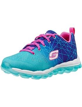 Skechers Skech Air- Laser Lite - Zapatillas de deporte para niñas, color azul, talla 28,5