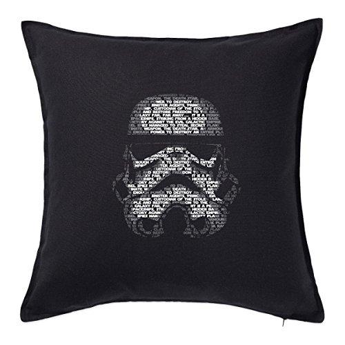 STAR WARS: Storm Trooper Cuscino Black
