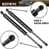 HZTWFC 2 pezzi Sollevatore coperchio tronco posteriore Supporti Ammortizzatori Puntoni Braccia Puntelli Aste Ammortizzatore OEM # 6453050031
