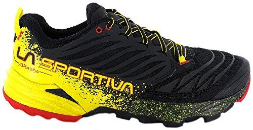 La Sportiva Akasha–Herren Sneakers Schwarz / Gelb