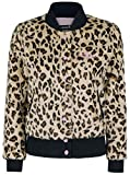 Sourpuss Fake Fur Leopard Jacket Übergangsjacke Leopard XL