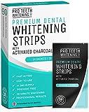 Strips 28 Bandas Blanqueadoras Dientes Blanqueamiento de dientes tiras | Tiras Blanqueadoras Dientes con Carbón Activo | Teeth Whitening Strips