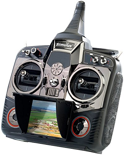 fernsteuerung 6 kanal Simulus Zubehör zu Drohne Live-Kamera: FPV Profi-Fernsteuerung DEVO-F7 2,4 GHz DSSS (GPS-Drone)