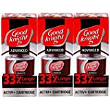Good knight Activ Plus Liquid Refill 33 Percent Extra Protection 60N, Pack of 3