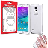 Producto Original Donkeyphone® - FUNDA GEL TRANSPARENTE PARA SAMSUNG GALAXY NOTE 4 N910 N910F SILICONA ULTRA THIN - ULTRA FINA 0,33 mm