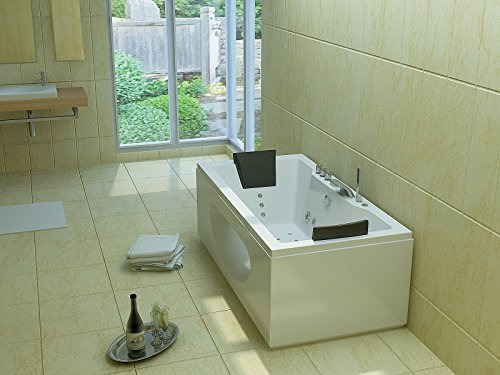Luxus Whirlpool Badewanne 180x90 in Vollausstattung (Massage) - Sonderaktion - 4