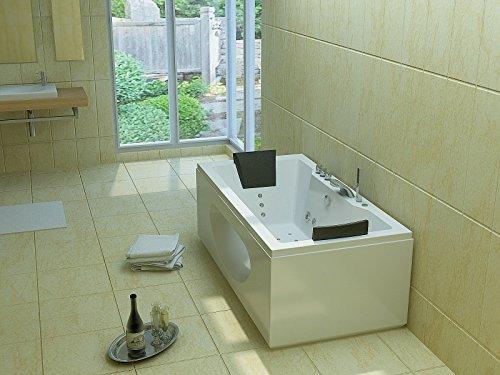 Luxus Whirlpool Badewanne 180x90 in Vollausstattung (Massage) - Sonderaktion - 4