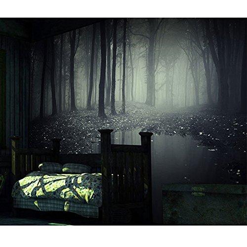 300 cmX 210 cm stereoskopischen 3D-geheimnisvollen Wald wallpaper Room Escape house horror Hintergrund bar Dekorative großes Wandbild haunted, 300cmx210cm