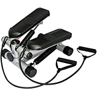 Mini Stepper with Resistant Band (Black)