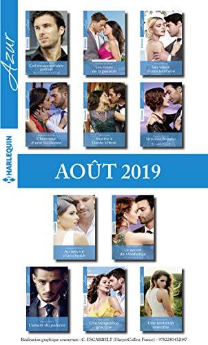 11 romans Azur + 1 gratuit (n°4114 à 4124 - Août 2019) par Collectif