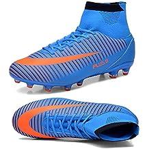 Spike Botas de Fútbol Unisex Bebé Zapatos de fútbol para niños Profesional Zapatillas de Fútbol Sala