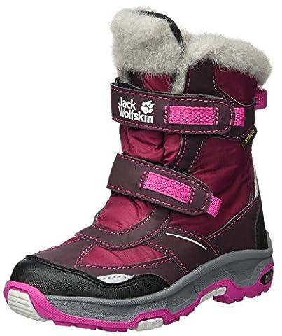 Jack Wolfskin Mädchen Girls Snow Flake Texapore Schneestiefel, Violett (Mahogany), 37 EU