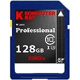 Komputerbay professionnelles 128 Go High Speed SDXC Class 10 UHS-I, U3 jusqu'à 95 Mo / Sec Flash Card