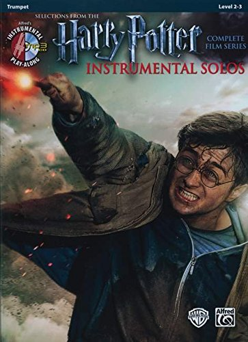 Harry Potter Instrumental Solos: Trumpet, Book & CD (Alfred's Instrumental Play-Along)