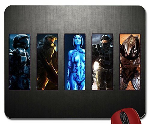 video games cortana halo master chief halo odst halo reach collage arbiter 1920x1080 wallpaper mouse pad computer mousepad