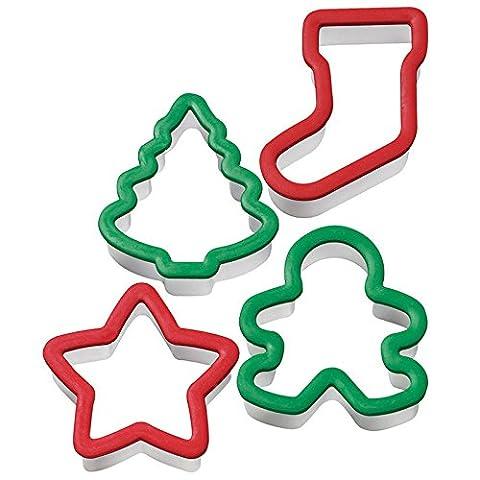 Wilton Ausstechformen, weihnachtliche Motive, 4-teilig