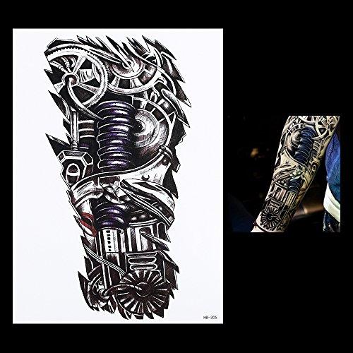 Roboterarm TATTOO Biomechanik-TATTOO Oberarm Tattoo Arm Tattoo hb305