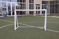 I Goal calcio Tor-portatile gonfiabile Tor-Resistente, leggero e sicuro-Si adatta facilmente in borsa per il trasporto-Tor è facile da confezionare auszurollen e nuovamente per un immagazzinaggio conveniente-Pompa a 2vie, aufblaest...