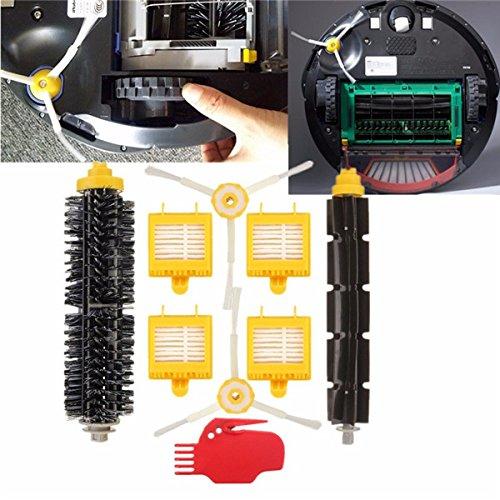 ZHENWOFC 9 stücke vakuumreiniger filter pinsel pack kit für irobot roomba 700 serie Hardware-Ersatzteile -