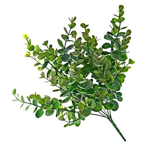 Floristrywarehouse Bande d'eucalyptus Bush Vert et Gris Artificielle 35,6 cm