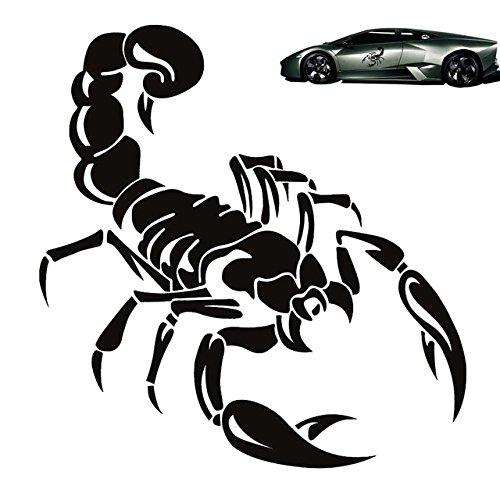 Zantec Skorpion Totem Decals Auto Aufkleber Auto Styling Vinyl Aufkleber Aufkleber für Autos Dekoration