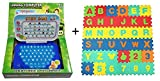 Guruji's Combo Offer:: Eva Foam Learning Puzzle Mat + Learning Computer for Kids.