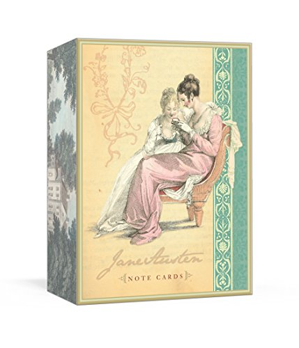 Jane Austen Note Cards por Potter Gift