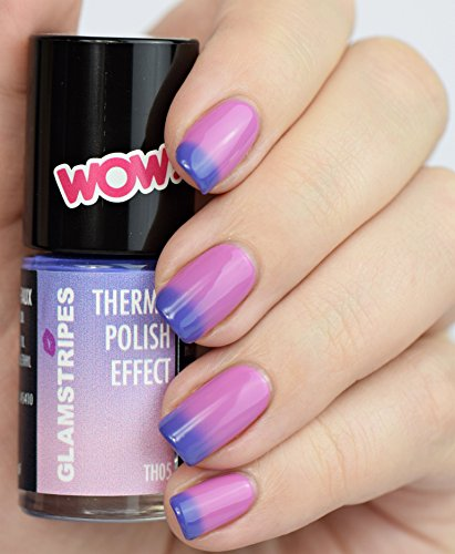 THERMO NAIL POLISH EFFECT - VIOLET TO ROSE - NEW! THERMO NAGELLACK