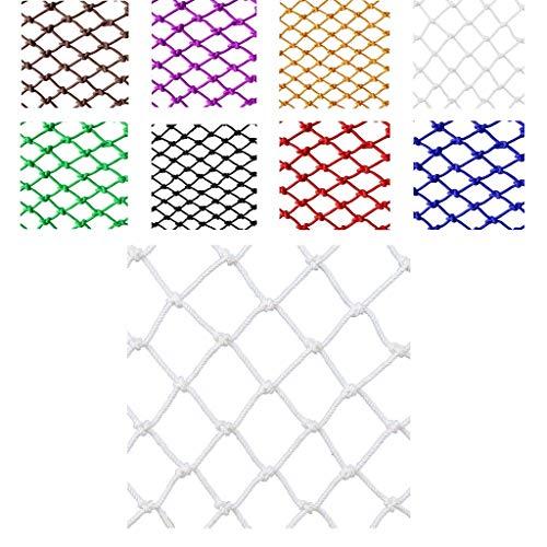 Kindersicherheits-Balkon-Schutz-Nylon-Netz (Sicherheits-Absturzsicherungs-Netz) Kindersicherheits-Netz (Balkon-Gartenschutz-Pflanzen-Trampolin-Netz For Kinder-Vogel-Seil-Netz (5 Cm * 6 Mm)