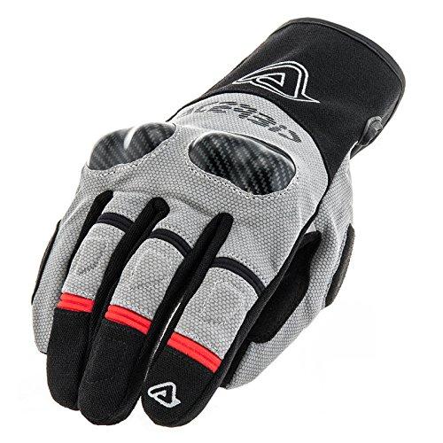 Handschuhe Moto Sommer Acerbis Adventure-grau TG. L