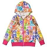 Bhome Mädchen Kapuzenpullover, Animalprint mehrfarbig mehrfarbig Gr. 160 cm, mehrfarbig