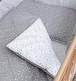 Baby Comfort - 234-4-teiliges Bettwäsche für Kinder 135x100 cm Steppdecke und Kissen - Muster - Multicoloured (pattern 2)