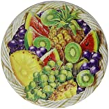 Churchill's Fruit Basket Tins with Mini Fruit Bon Bons Tropical Fruit Berry Flavours 125 g