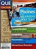 Telecharger Livres QUE CHOISIR du 01 04 2006 PISCINES DES SOLUTIONS POUR TOUS PARCOURS DE SOINS EPARGNANTS ETES VOUS SURPROTEGES PLACEMENTS DES RENTES POUR VOTRE RETRAITE DEMARCHEURS FINANCIERS VOS IMPOTS LES INTERESSENT (PDF,EPUB,MOBI) gratuits en Francaise