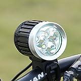 Spécification:    • Ampoule à LED:   - Type:XM-L T6 LED   - Quantité: 3   - Flux lumineux: 4000 Lumens (sortie maximale)   - Durée de vie: 100.000 heures   • 4 modes de fonctionnement:   - Faible   - Moyen   - Forte   - Strobe   • Type de commutateur...