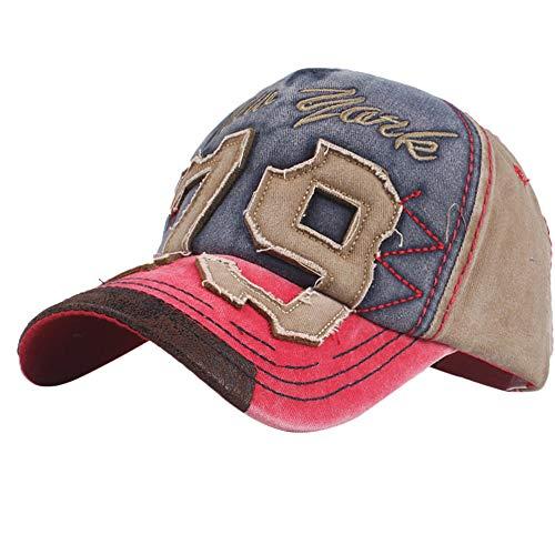 ManlinG7* Cappello da Baseball Cappello Uomo con Visiera Unisex Adulto Regolabile Cotone cap Hat per Camping e outdoo,Arrampicata