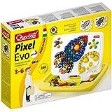 Quercetti Pixel Evo Multicolor juguete de habilidad motora - juguetes de habilidades motoras (Multicolor, Niño/niña, 6 año(s), 3 año(s), 220 mm, 190 mm)