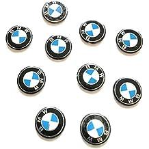 PEGATINAS BMW LOTE 10 PIEZAS EMBLEMA LLAVE COCHE